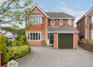 Thumbnail 4 bed detached house for sale in Chadbury Close, Lostock, Bolton