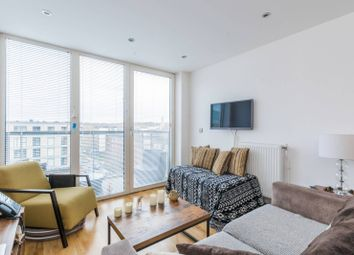 Thumbnail 1 bed flat to rent in Wood Wharf, Greenwich, London