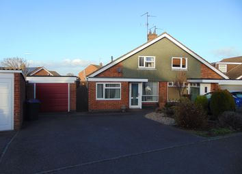 Thumbnail 3 bed semi-detached bungalow for sale in Oundle Drive, Moulton