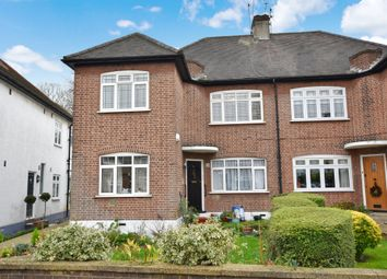 Thumbnail 3 bed flat to rent in Beechwood Park, London