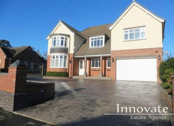 Thumbnail 6 bed detached house for sale in Woodgreen Road, Oldbury