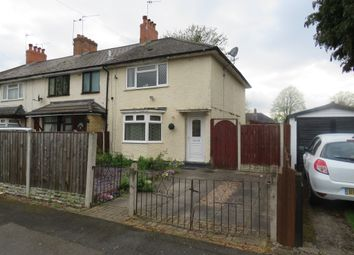 Thumbnail 3 bed end terrace house for sale in Selby Grove, Birmingham