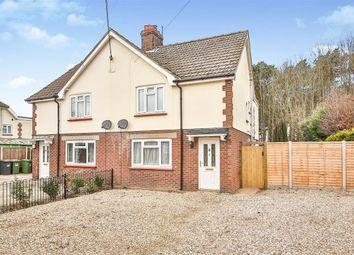 Thumbnail 3 bed semi-detached house for sale in Holt Road, Little Snoring, Fakenham