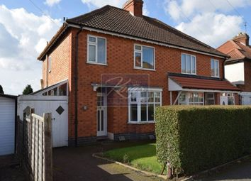 Thumbnail 3 bedroom semi-detached house for sale in Queen Street, Oadby, Leicester