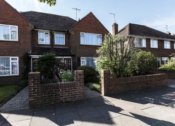 Thumbnail 3 bed semi-detached house for sale in Wiston Avenue, Broadwater, Worthing