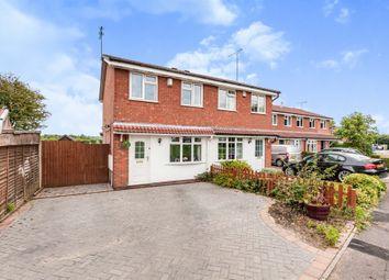 Thumbnail 2 bed semi-detached house for sale in Corinium Close, Alvaston, Derby