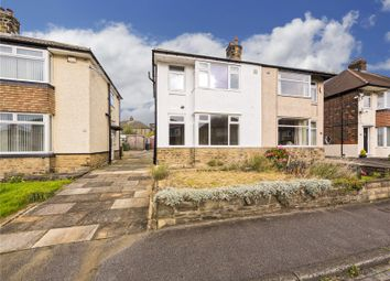 Thumbnail 3 bed semi-detached house for sale in Moorland Road, Pudsey, West Yorkshire