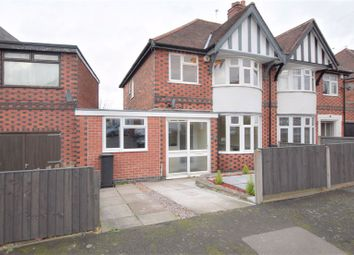 Thumbnail 3 bed semi-detached house to rent in Dorchester Road, Western Park, Leicester