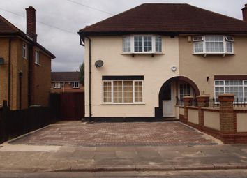 Thumbnail 3 bed semi-detached house to rent in Eaton Road, Hayes, Harlington Heathrow