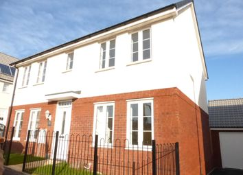 Thumbnail 4 bed detached house to rent in Hook Drive, Exeter