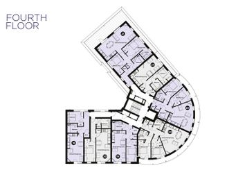 Thumbnail 1 bed flat for sale in Colne View, Lightship Way, Colchester