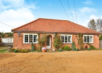 Thumbnail 4 bed detached bungalow for sale in Silfield Street, Silfield, Wymondham
