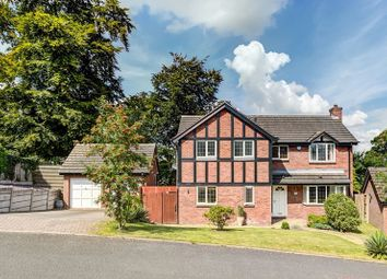 Thumbnail 4 bed detached house to rent in The Mount, Congleton