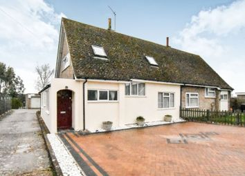 Thumbnail 3 bed semi-detached house for sale in Church Close, Milton Ernest, Bedford
