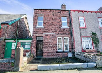 Thumbnail 3 bed terraced house for sale in Burnswark Terrace Solway Street, Silloth, Wigton