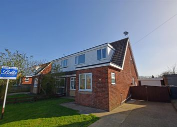 Thumbnail 3 bed semi-detached house for sale in Northlands Avenue, Winterton, Scunthorpe