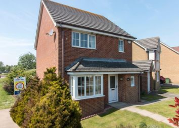 Thumbnail 3 bed detached house for sale in Park Close, Hawkinge, Folkestone