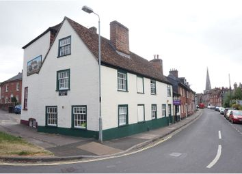 Thumbnail 4 bed end terrace house for sale in St Martins Church Street, Salisbury