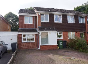 Thumbnail 3 bed semi-detached house for sale in Salford Close, Redditch