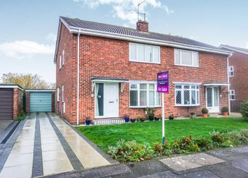 Thumbnail 3 bed semi-detached house for sale in Grebe Road, Newport, Gilberdyke