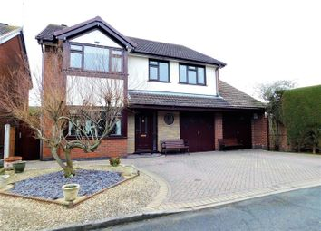 Thumbnail 5 bed detached house for sale in Ruskin Drive, Derrington, Stafford.