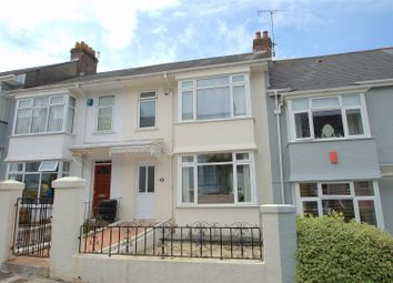 Thumbnail 3 bedroom terraced house for sale in Green Park Avenue, Mutley, Plymouth
