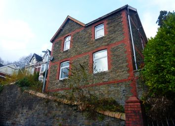 Thumbnail 3 bedroom detached house for sale in Tyfica Road, Pontypridd