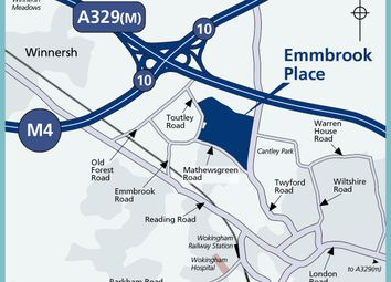 """Thumbnail 2 bed property for sale in """"Type - C2A"""" at Matthewsgreen Road, Wokingham"""