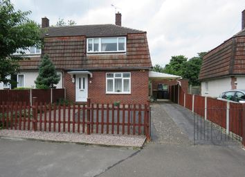 Thumbnail 3 bed semi-detached house for sale in Highfield Rise, Metheringham