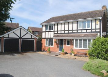 Thumbnail 4 bedroom detached house for sale in Kendal Close, Rushden