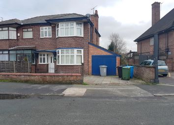 Thumbnail 3 bed semi-detached house to rent in Melville Road, Manchester