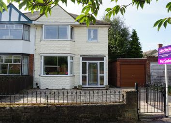 Thumbnail 3 bed semi-detached house for sale in Glenfield Road, Leicester