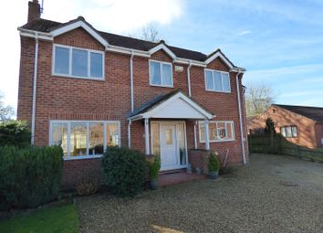 Thumbnail 4 bed detached house for sale in Hymers Close, Brandesburton, Driffield