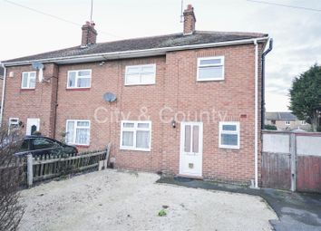 Thumbnail 2 bed semi-detached house for sale in Atkinson Street, Peterborough
