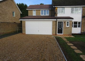 Thumbnail 4 bed semi-detached house for sale in Westbury Lane, Newport Pagnell