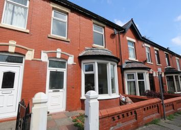 Thumbnail 3 bed terraced house to rent in Manor Road, Blackpool