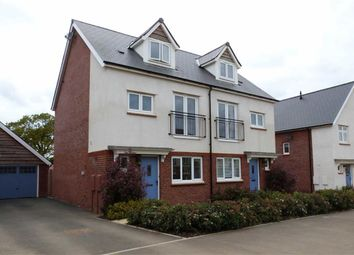 Thumbnail 4 bedroom semi-detached house for sale in Homington Avenue, Coate, Swindon