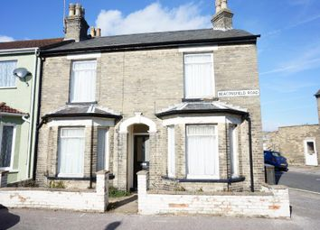 Thumbnail 2 bedroom end terrace house for sale in Beaconsfield Road, Lowestoft