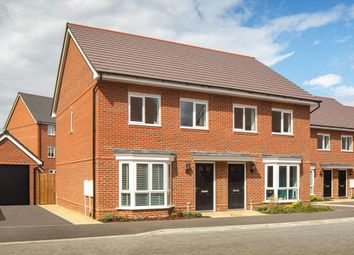 """Thumbnail 3 bed terraced house for sale in """"Hutchins"""" at Hyde End Road, Spencers Wood, Reading"""