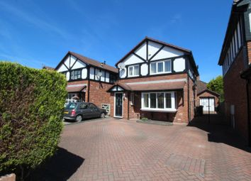 Thumbnail 3 bed detached house for sale in Beresford Crescent, Reddish, Stockport, Cheshire