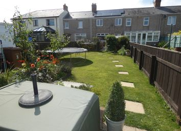 Thumbnail 4 bed terraced house for sale in East View, Seghill, Northumberland