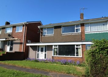 Thumbnail 3 bedroom semi-detached house for sale in Rosewood Close, Sacriston, Durham
