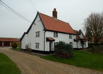 Thumbnail 6 bed cottage for sale in West View, Centre Chapel Cottage &, East Chapel Cottage, Common Road, Shelfanger, Diss, Norfolk