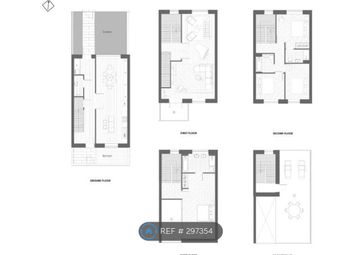Thumbnail 4 bed terraced house to rent in Schooner Road, London