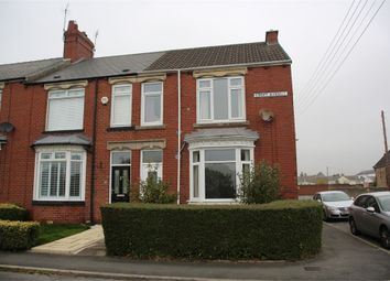 Thumbnail 3 bed end terrace house for sale in Croft Avenue, Crook, Durham