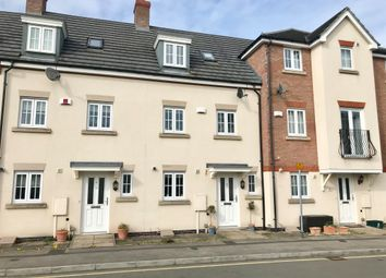 Thumbnail 3 bed terraced house for sale in Two Steeples Square, Wigston, Leicester
