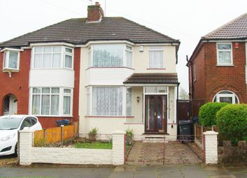 Thumbnail 3 bed semi-detached house for sale in Dowar Road, Rednal
