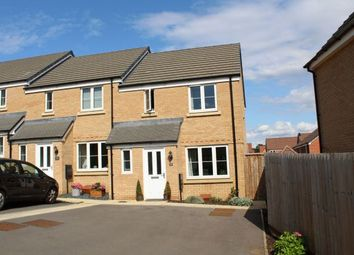 Thumbnail 3 bed end terrace house for sale in Dunkley Way, Harlestone Manor, Northampton