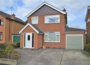 Thumbnail 3 bed detached house for sale in Brockwood Crescent, Keyworth, Nottingham