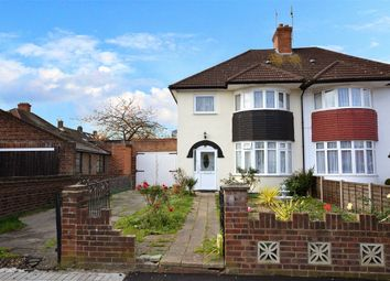 Thumbnail 3 bed semi-detached house for sale in Ash Grove, Wembley, Middlesex